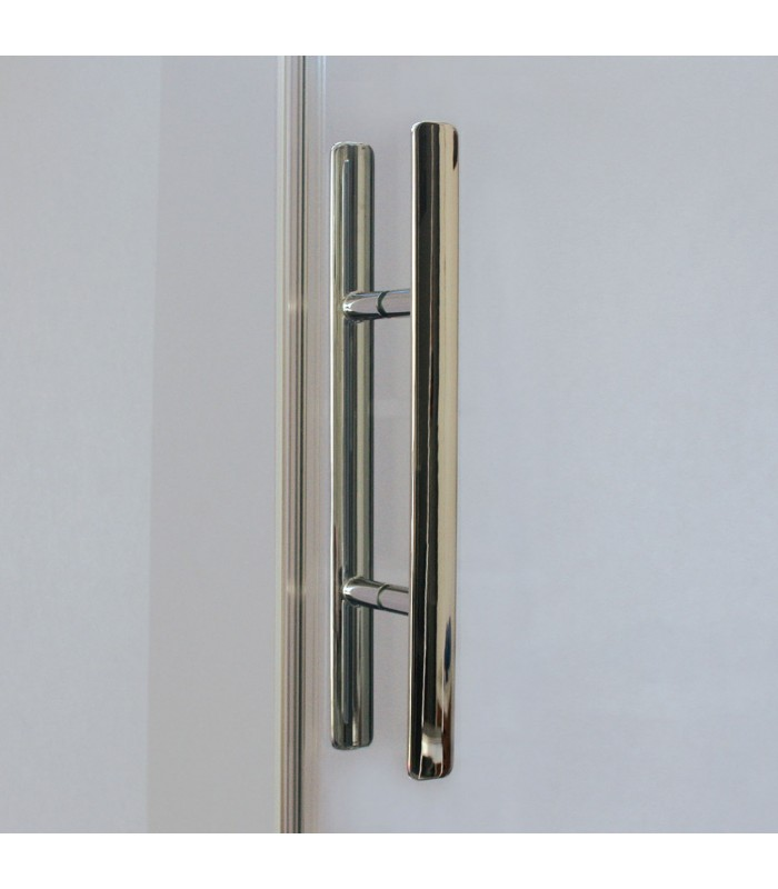 Europa design porte pivotante avec paroi fixe breuer pour for Porte douche breuer