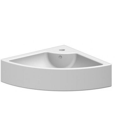 Square lavabo d'angle