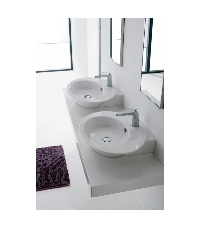 wish lavabo vasque poser ou suspendu 67 scarabeo pour sanitaires. Black Bedroom Furniture Sets. Home Design Ideas