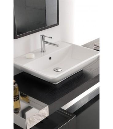 Thin-Line KYLIS vasque/lavabo à poser ou suspendu