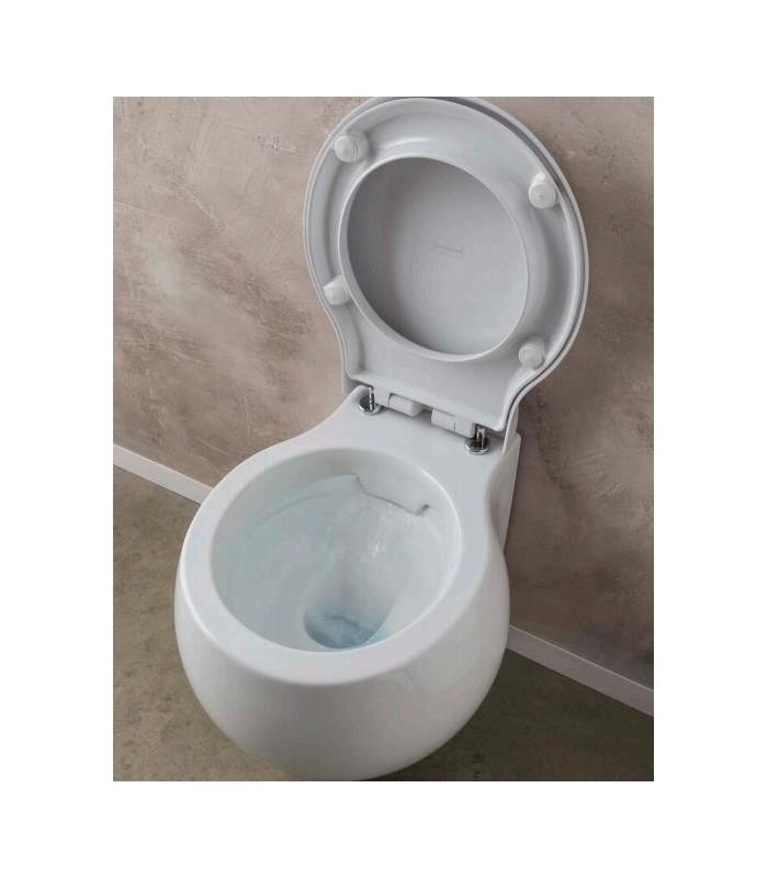 clean flush wc cuvette suspendue planet scarabeo pour sanitaires. Black Bedroom Furniture Sets. Home Design Ideas