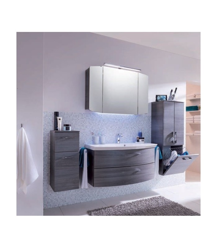 meuble suspendu salle de bain cassca 101 pelipal france pour sanitaires. Black Bedroom Furniture Sets. Home Design Ideas
