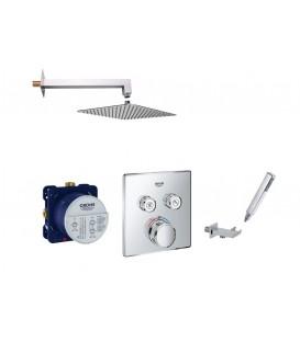 Set de douche encastrée SmartControl Thermostatique