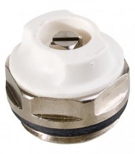 """Purgeur d´air 3/8"""", rotatif laiton nickelé, avec joint torique"""