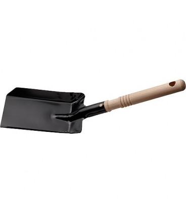 Pelle charbon avec manche en bois