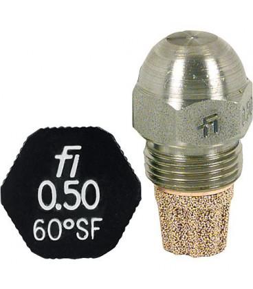Gicleur Fluidics Fi 15,00/80°SF