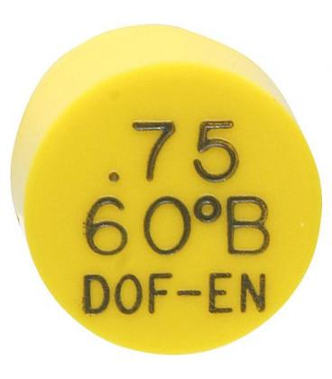 Gicleur Del-o-Flo 0,60/80°B