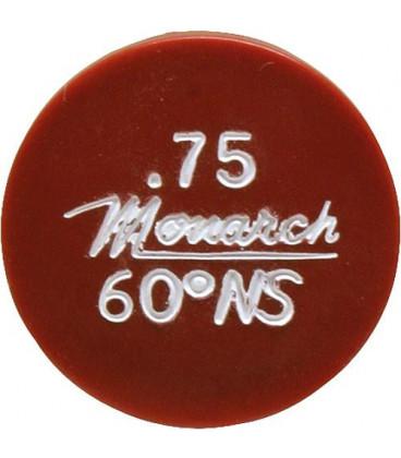 Gicleur Monarch 0,75/80°NS
