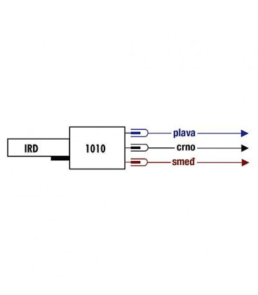 Satronic IRD 1010 - rouge à gauche