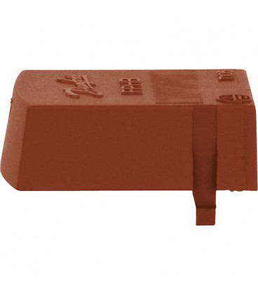 Capuchon marron pour réchauffeur fioul Danfoss