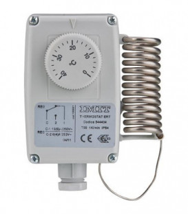 Thermostat d'ambiance RC 0... +40°C reglage male