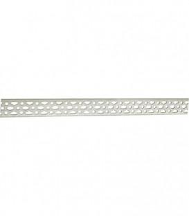 Rail de montage rectiligne 50x 3 mm, longueur 1600mm 0,83 kg/m - zingué