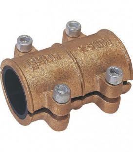 Collier d'etancheite en laiton 54mm pour eau PN 10 jusqu'a 90°C selon DIN 1786