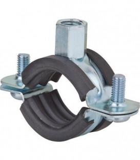Collier d'attache galva pour tuyaux FRS Plus 159-165 plage de serrage 159 - 165 mm