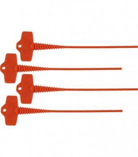 bouchon de fermeture pour cartouche silicone Kit de 4