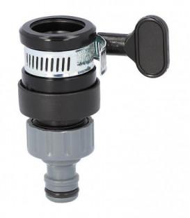 Raccordement universel pour robinet sans filetage, avec diam. ext. 14-17mm