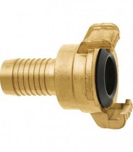 """GEKA plus section de tube """"2000"""" 1""""-25mm, MS, pivotant"""