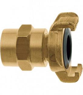 """Geka XK plus piece de tuyauterie pour eau potable 1""""-25 mm, laiton"""