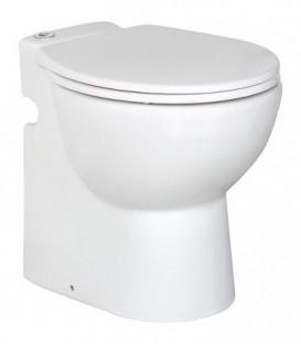 Compact WC Gestolette 1010 avec levage pour eau et rincage automat, abattant WC inclus