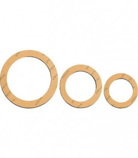 Joint de raccord special 1 1/2'' 46 x 62mm 2 mm d'epaisseur/jaune 25 pcs