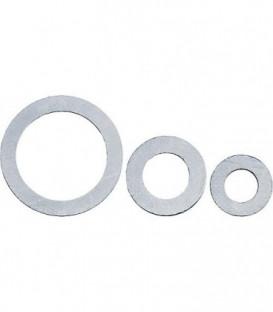 Joint en gravite avec tole de support selon DIN 2690 Noir 28x53 mm 2mm d epaisseur