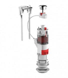 Robinetterie de vidange INEO 2V pour chasse d'eau céramique