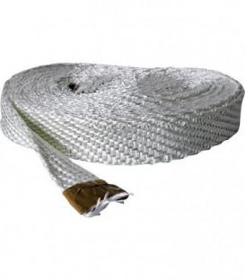 Ruban textile sans amiante 20x3 mm fibre de verre emballage 10 metres