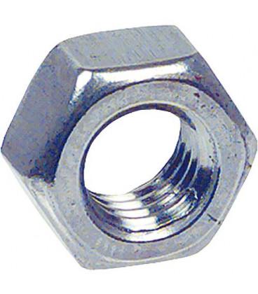 Ecrou 6 pans inoxA4 DIN 934/ISO 4032, M16 Emballage 100 Pieces