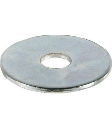 Rondelle zinguée Dim 8,4 x 30 x 1,25 mm Emballage 100 pcs