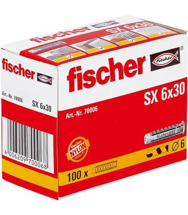 Chevilles Fischer SX SX SX Typ SX 12 x 60, UE 25 pieces