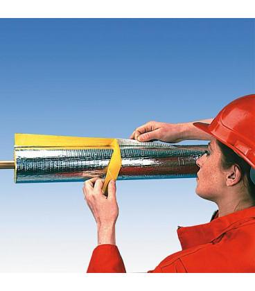 Isolation de tube Austroflex Alu diam. 54 mm Epaisseur 28 mm emballage 9 m