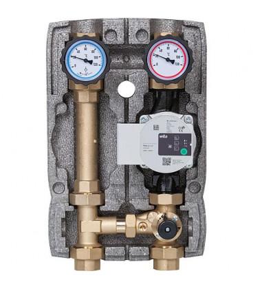 """Kit circuit de chauffage Easyflow DN5(1""""), melangeur 3 voies, Wilo Para 25/6"""