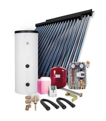 Kit solaire HP montage sur toiture 12,11m2 sans reservoir