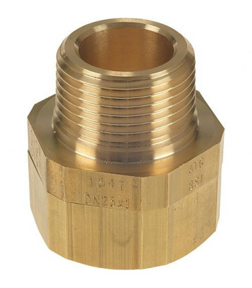 "Raccord pour flexible ondule DN15 (1/2"") x DN20 (3/4"") male"