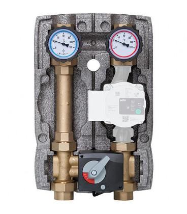 """circuit de chauffe Easyflow 1"""" avec isolation melangeur 4 voies"""