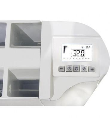 Radiateur electrique aluminium eBlitz GD 5806, 600 Watt RAL 9010