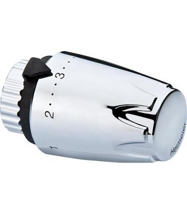 tête thermostatique DX avec sonde premonte thermostat avec remplissage de liquide, chrome