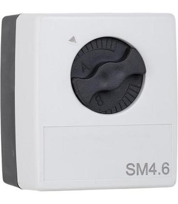 Servomoteur SM 4C.6 pour regulation de chauf.avec sorties semi conductrice !!SANS kit de montage 90 605 20!!!!