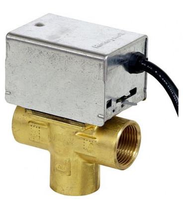"Honeywell soupape de zone 3 voies V 8044 C 1065 B, avec reglage manuel 1"", 24 V, 50/60 Hz, 6 W *BG*"
