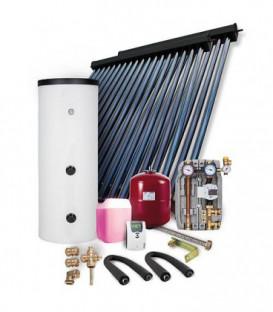 Kit solaire HP 30 montage sur toiture 9,78m2 sans reservoir