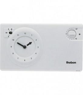Theben thermostat a horloge RAM 725 blanche Programme 24 Heures/ 7 jours