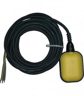 Interrupteur a flotteur 2 m Opti2 jaune pour montage ulterieur Fonction remplir