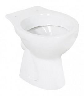 WC à fond creux NEO en ceramique blanc lxHxP 360x395x500 mm sortie horizontale