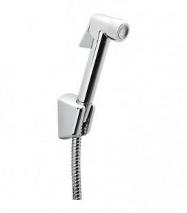 Kit de douche hygiene intime Ettalia avec douchette+flexible et support douchette