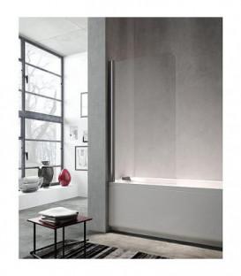 LULA support pour baignoire verre secu 5 mm, 1 element verre rotatif 900-925x1400mm