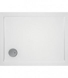 Receveur EVREN rectangulaire acrylique 1800x800x55 mm pour bonde de 90 mm