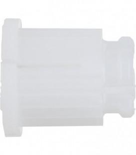 Douille Dronbracht, blanc pour tete ceramique et chambre de graisse
