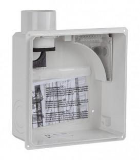 Boitier encastré Limodor compact/II-AS, raccordement 2 pcs DN 80 latéral