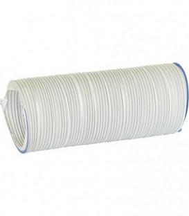 Tuyau d'aeration KLS 100/1000 DN 100 / 1 m plastique Blanc