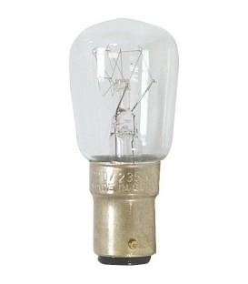 Ampoule pour machine a coudre 15W clair, B15d antichoc